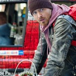 Aaron Paul, beloved after his turn on 'Breaking Bad,' finds himself in a dud with 'A Long Way Down.'