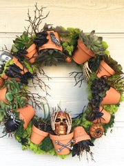 """""""Home and Family,"""" created a Halloween wreath that"""