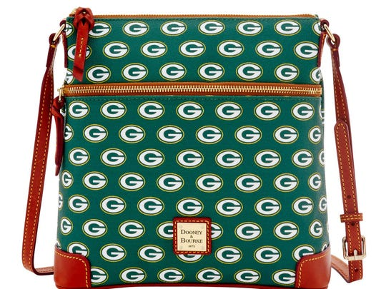 Dooney and Bourke Green Bay Packers crossbody bag.