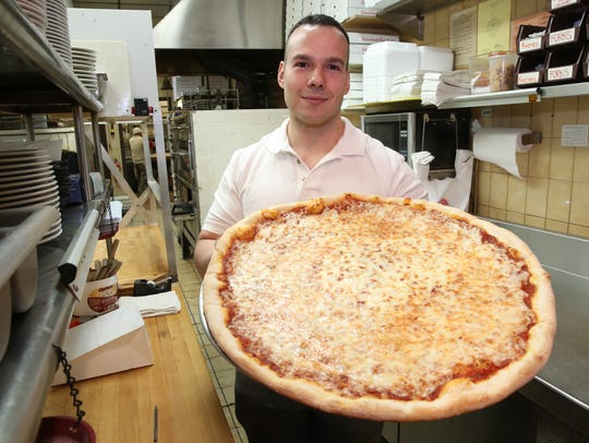 Anthony Scanga, owner of Pizza Village in Hopewell