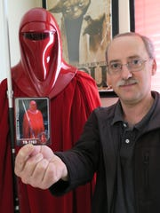 Star Wars enthusiast and collector Derek Mazer has been collecting Star Wars memorabilia since the 70s.