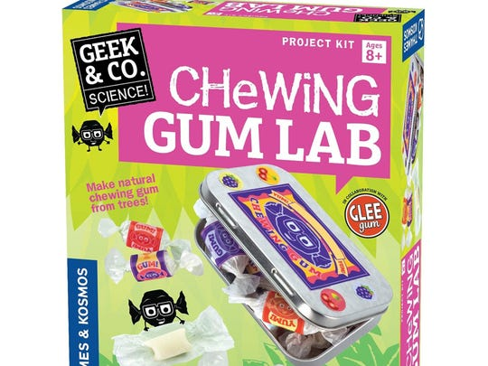 Chewing Gum Lab gives you everything you need to make delicious gum. Plus, you'll learn about the science of polymers.
