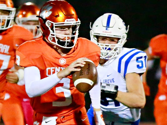 Spring Grove vs Central York Homecoming football