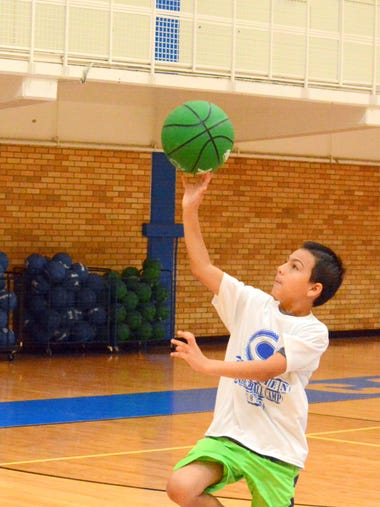 The Cavemen basketball camp gets underway Tuesday at