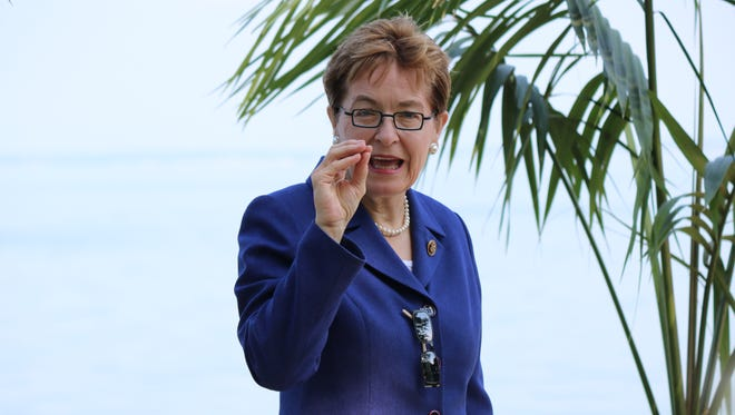 """U.S. Rep. Marcy Kaptur, D-Toledo, called the latest proposed cuts to the Great Lakes Restoration Initiative """"reckless,"""" putting a freshwater source for more than 30 million people at risk."""