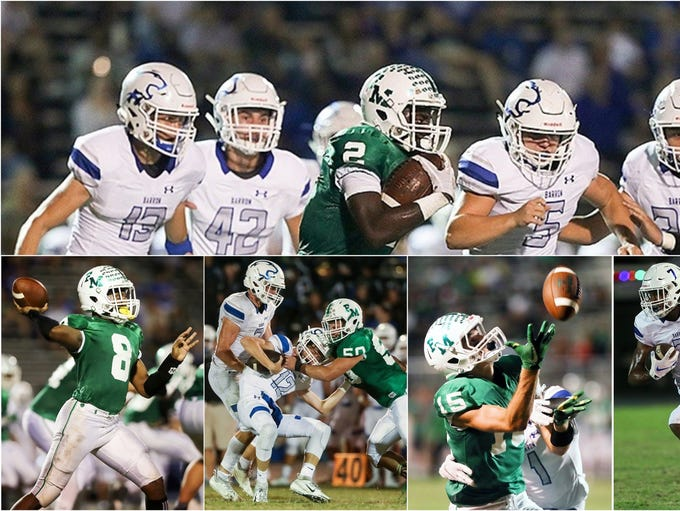 Action between Fort Myers High School and Barron Collier