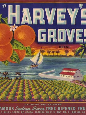 Harvey's Groves will be included in the Florida Citrus Label Exhibit and the refreshed and updated Brevard County Citrus Exhibit at the Brevard Museum of History and Natural Science.