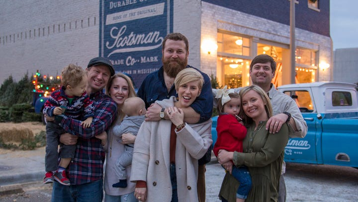 """Laurel is the bustling backdrop to HGTV's """"Home Town"""""""