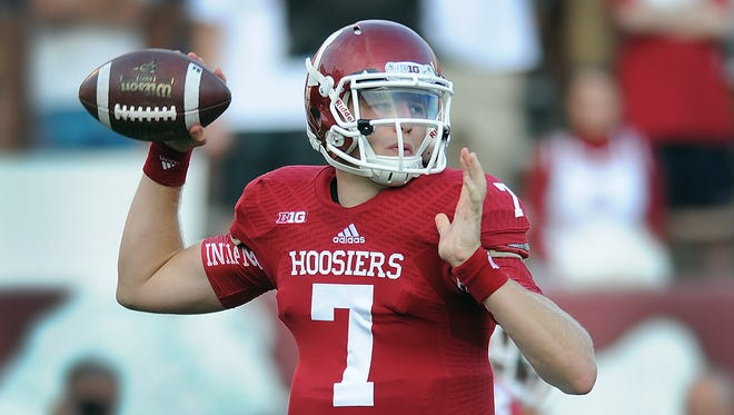 Indiana University QB Nate Sudfeld will lead one of the nation's most-fast paced offenses in 2014.