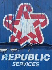Republic Services is being fined for missing garbage