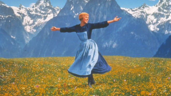 """Julie Andrews and the Austrian Alps star in """"The Sound of Music,"""" a Mother's Day offering at select Marcus Theatres this weekend."""