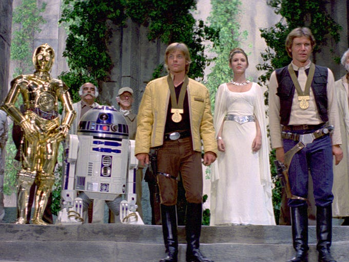 """in a film franchise as rich in detail as """"Star Wars,"""""""
