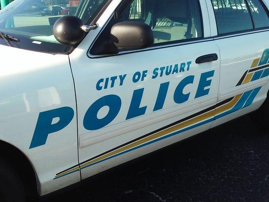 NOT FOR PRINT Stuart Police cruiser crime