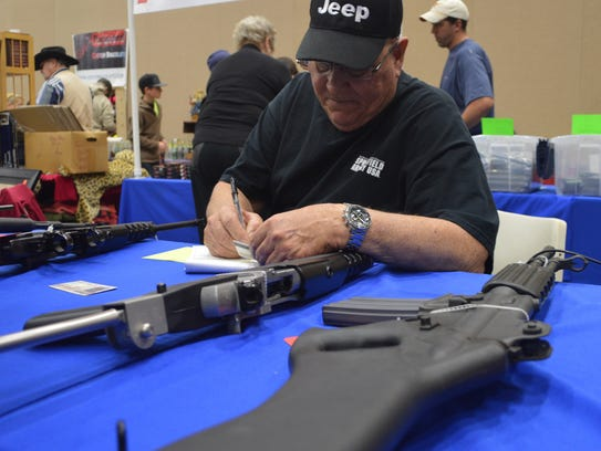 The Wichita Falls Gun and Knife Show will be 9 a.m. to 5 p.m. Jan 27 and 28.