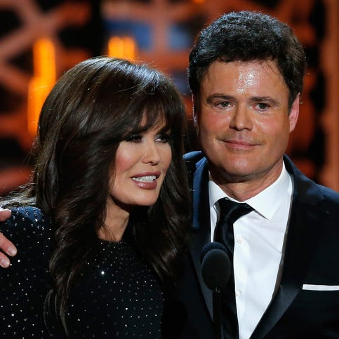 Donny Osmond tells us who's the boss: Him or Marie