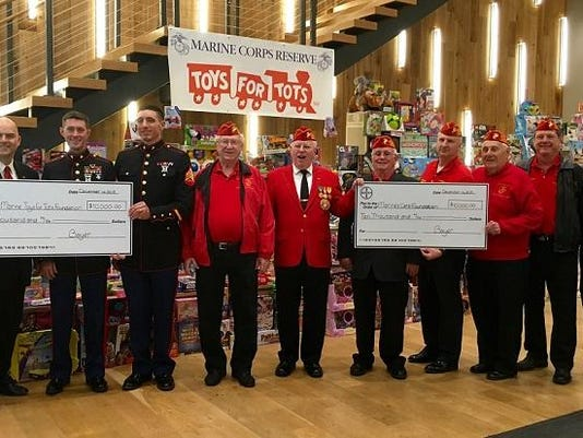Bayer Marines Toys for Tots 2k15