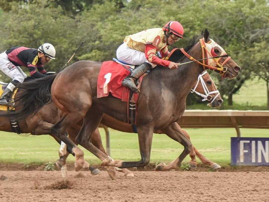 Breakin the Fever won the $50,000 George W. Barker