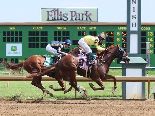 Officials at Ellis Park don't think recent river flooding will cause problems for the track's opening day.