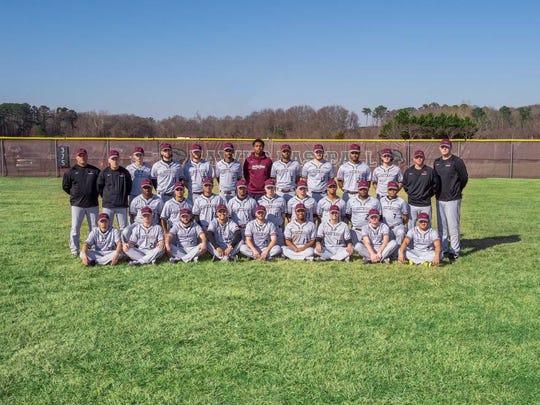 The 2018 UMES baseball team.