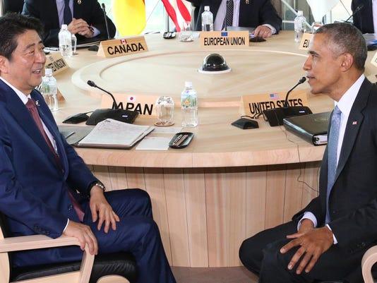 Shinzo Abe, Barack Obama