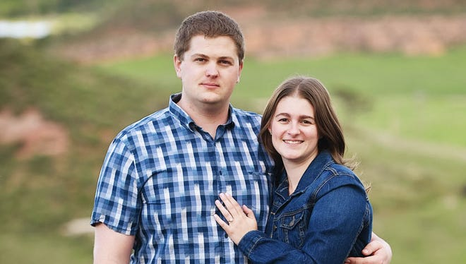 Bryan Graves, left, and Elizabeth Bloemen met when they were teammates for a Science Olympiad competition. They competed together for years in high school, then started dating in college.