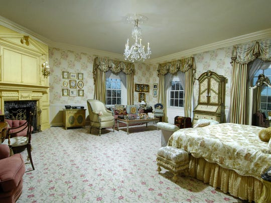 """This Greenwich, CT estate, on the market for $45 million, was Donald Trump's """"starter mansion."""""""