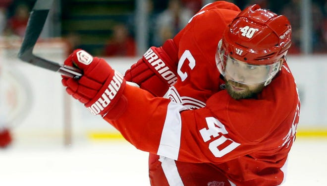 Detroit Red Wings forward Henrik Zetterberg missed time earlier this season with a back injury.