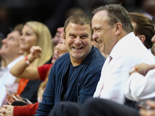Houston Rockets owner Tilman Fertitta smiles during