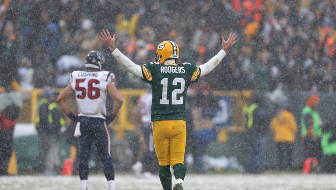 Green Bay Packers quarterback Aaron Rodgers has thrown 374 NFL touchdown passes. We rank all of them.