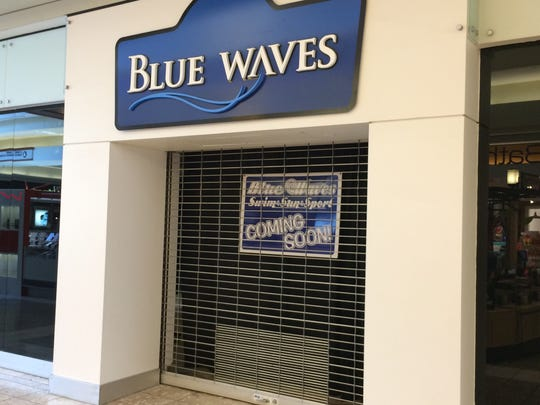 Blue Waves, a swim and sun dress shop, will open Saturday