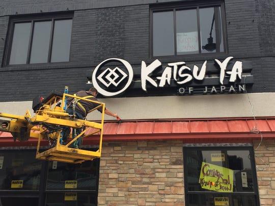 Katsu-Ya's new location will open shortly in downtown Appleton.