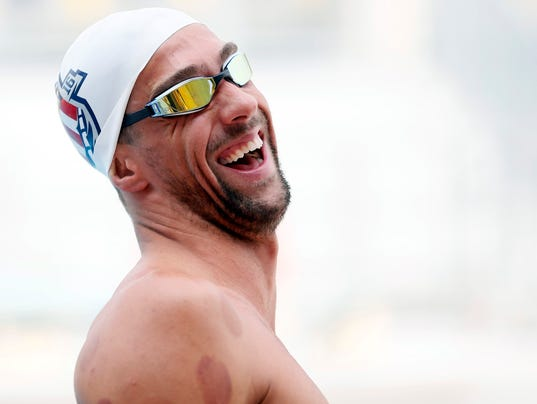Michael Phelps says he feels like a 'different person now'