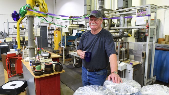 Steve Coburn at his workplace, JCP Enterprises, in Gardnerville. Coburn co-owns California Chrome, the horse that won the Kentucky Derby.