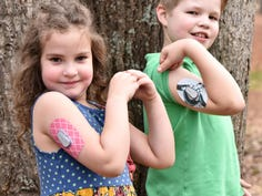 Family's two children both live with Type 1 diabetes
