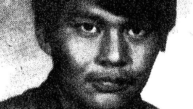 An undated photo of Airman First Class Rudy Redd Victor. His remains recently were identified in a Montana cold case after Victor went missing in 1974.