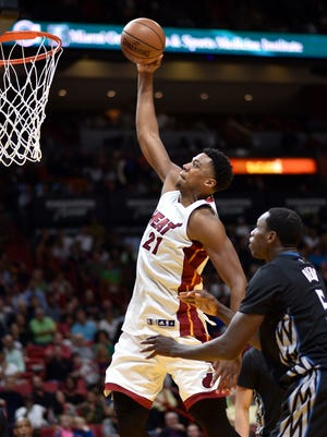 Hassan Whiteside and the Heat have won 23 of their last 28.
