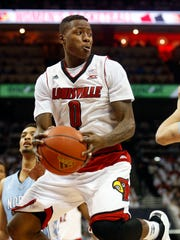 Terry Rozier in a 2015 game vs. UNC.