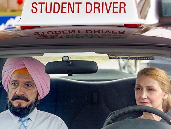 "Sept. 11: ""Learning to Drive"" (R) Ben Kingsley plays"