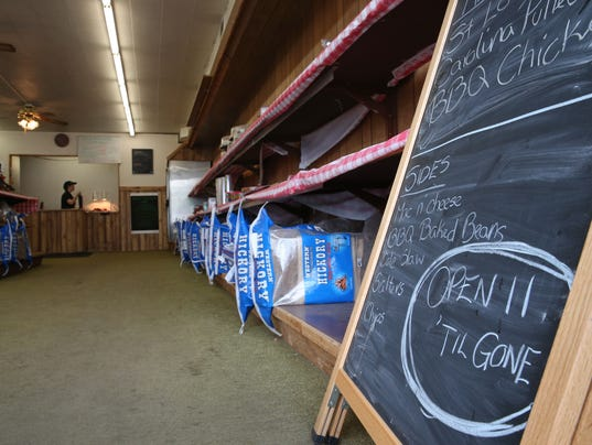 Jamison's Real Wood BBQ in Caledonia