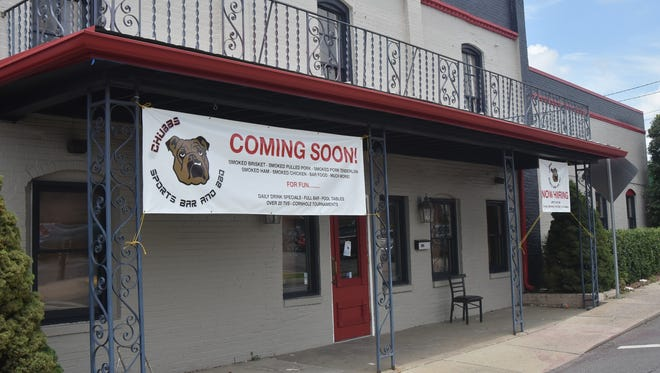 Chubb's Sports Bar and BBQ will feature more than 20 televisions, two pool tables and a full beer and liquor bar when it opens in downtown Gallatin on Aug. 4.