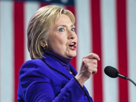 Hillary Clinton is the front-runner for the Democratic nomination for president of the United States.