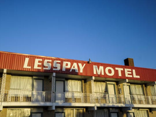 The Less Pay Motel sits at the corner of University