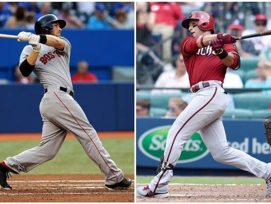 Yankees trade for infielders
