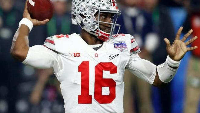 J.T. Barrett has seen some of his offensive teammates graduate or go to the NFL but much is expected of the Rider standout in his final college season.