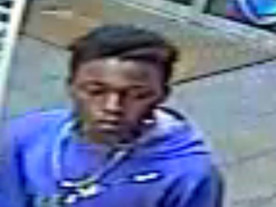 The Cocoa Police Department has released this photo of a possible suspect in the thefts.