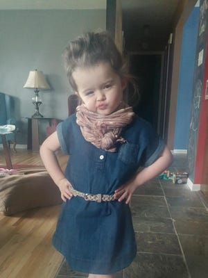 """Kimber Green, a Great Falls 3-year-old, became an Internet sensation when a video of her singing Adele's """"Hello"""" reached 9 million views on Facebook."""