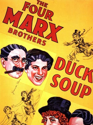 "The WeCo Summer Film Festival kicks off Friday, May 5 with a free showing of The Marx Brothers' 1933 classic ""Duck Soup."""