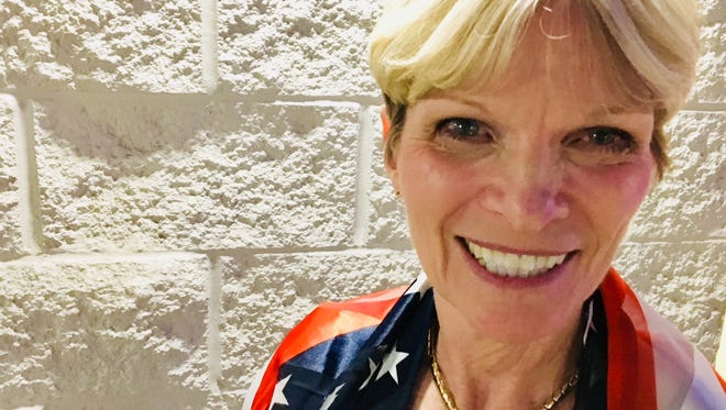 """Florida Democratic Party Chair Terrie Rizzo says """"Brevard Democrats are revved up and ready to go"""" for the 2018 election."""