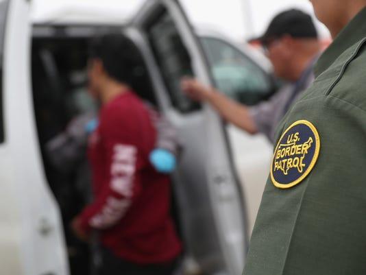 Customs And Border Protection Patrols U.S. Border As Illegal Crossings Plummet