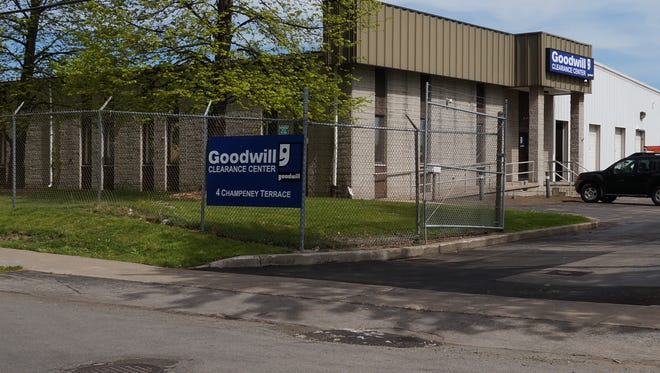The Goodwill Clearance Center is moving from 4 Champeney Terrace, near the Rochester Public Market, to 1555 Jefferson Road, Henrietta.